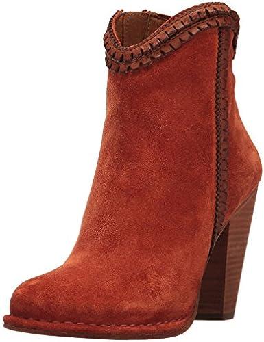 FRYE damen& 039;s Madeline Trim Short Ankle Stiefelie, Rust, 7 M US