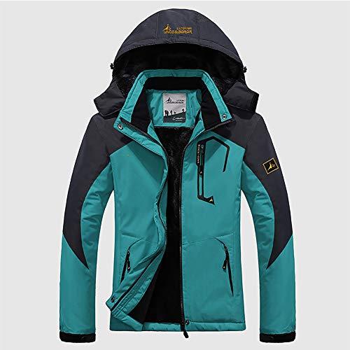 Plein air Vestes de Ski Vestes de Snowboard Couple Costume de Ski Manteau d'Hiver Montagne Coupe avec Doublure Polaire, Grande Taille-G M