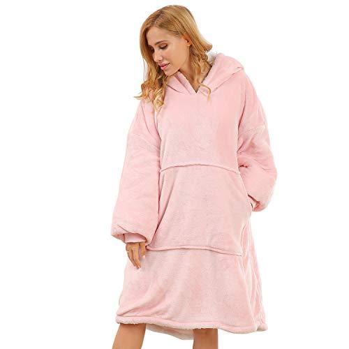 BUZIO Oversized Hoodie Blanket for Kids...