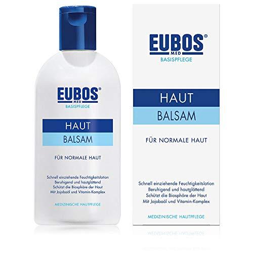 Eubos | Hautbalsam | 200ml | für normale bis Mischhaut | Hautverträglichkeit dermatologisch bestätigt | schnell einziehende Körperlotion | ohne Mineralöl