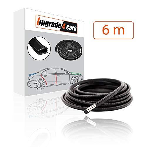 upgrade4cars Protection Portiere Voiture | Baguette Angle Aluminium Protege Porte | Protection Bord de Tole | Protections pour Portières Auto