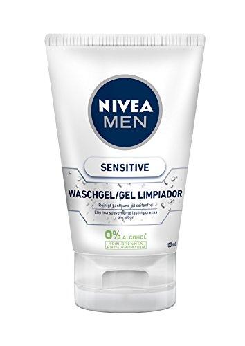 NIVEA MEN Sensitive Gel Limpiador, para...