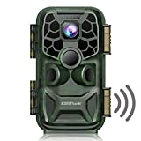 "Campark 4K Lite Trail Camera-24MP WiFi Bluetooth Game Camera with Night Vision Motion Activated Hunting Camera 120° Wildlife Monitoring 2.4""LCD Screen IP66 Waterproof"
