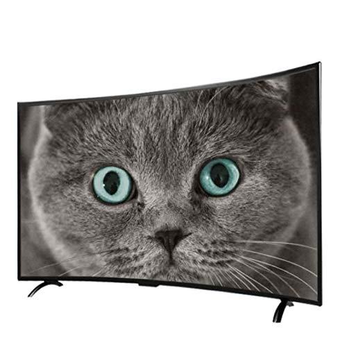 ZFFSC TV de Calidad HD 4K Ultra HD Smart TV Curvado, 32/42 / 46 Pulgadas, Pantalla de proyección de teléfonos móviles, WiFi Incorporado, resolución HD 1920 * 1080 TV de Calidad HD