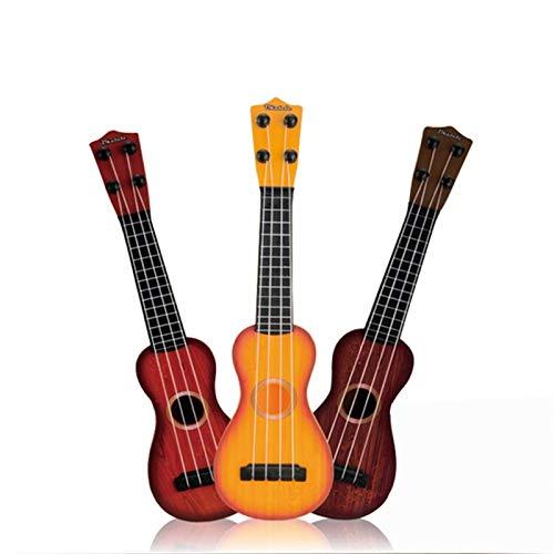 Ukulele I Bambini Possono Giocare L'ukulele Chitarra Musica Ragazzo Chiarimento Musica Femminile Ukulele (colore : Coffee)