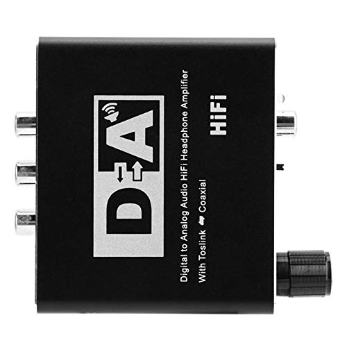 DAUERHAFT Decodificador de Sonido de Audio Duradero Plug and Play, para HDTV, para Amplificador AV, para Sistema de Cine en casa