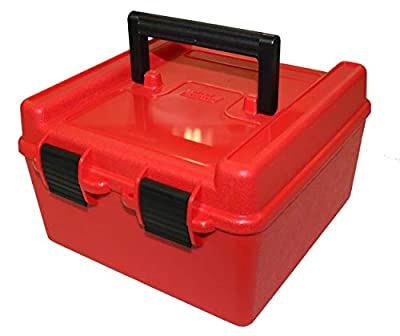 MTM R-100-MAG Deluxe 100 Round Rifle Ammo Box 300 WSM 375 Win Mag 7mm Rem Mag