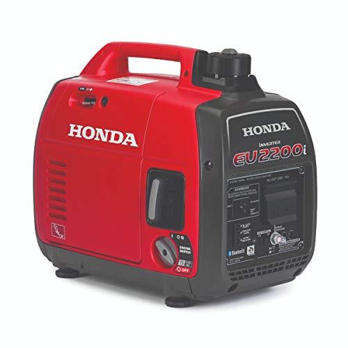 Honda EU2200ITAG 2200-Watt 120-Volt Super Quiet Portable Inverter Generator with CO-Minder - 49-State