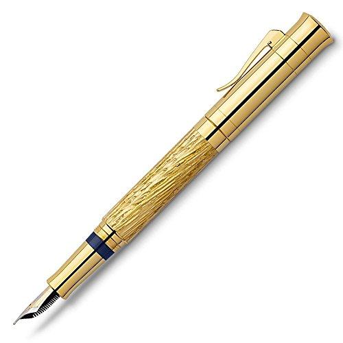Graf von Faber Castell Pen of the year 2012pistón pluma estilográfica con caña de Muelle de...