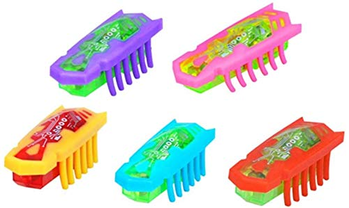 Elektrisches Käfer-Katzenspielzeug, sich schnell bewegender mikroelektrischer Schüttelkäfer mit Batterie Interaktives Katzen-Teaser Spielzeug für Haustiere die kratzen spielen jagen(Zufällige Farbe)