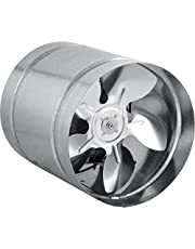 STAHL Axial buisventilator toevoerlucht/afvoerlucht buisventilator ventilator. Maten naar keuze: 150, 160, 210, 250, 315,350 mm. Behuizing van verzinkt staal. Kanaalventilator voor continu gebruik.