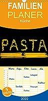 Pasta - Familienplaner hoch (Wandkalender 2022 , 21 cm x 45 cm, hoch): Appetitliche Fotografien von Pasta (Monatskalender, 14 Seiten )