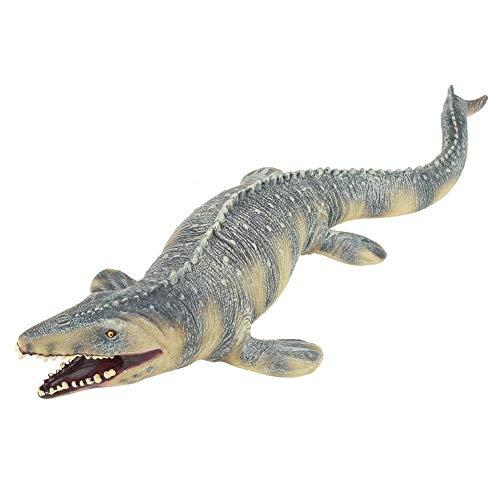 DEWIN Mosasaurus Figur - 45CM realistische Mosasaurus Dinosaurier Tiermodell Figur Kinderspielzeug