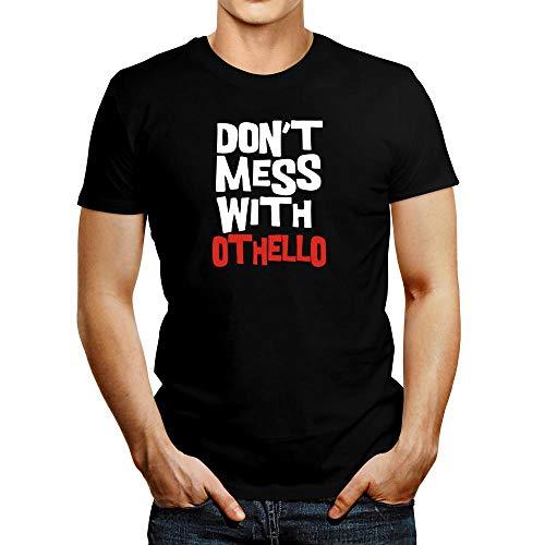 Idakoos Don't Mess with Othello Bicolor T-Shirt - Schwarz - Mittel