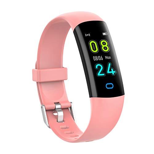 YoYoFit Fitness Tracker Kinder mit Blutdruck Pulsmesser,Fitness Uhr Wasserdicht IP68 Schwimmaktivität Schrittzähler,Fitness Armband mit Schlafmonitor Aktivitätstracker für Damen Herren Kinder