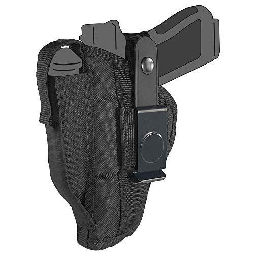 """Belt Side Holster fits Walther Q5 Match with 5"""" Barrel"""