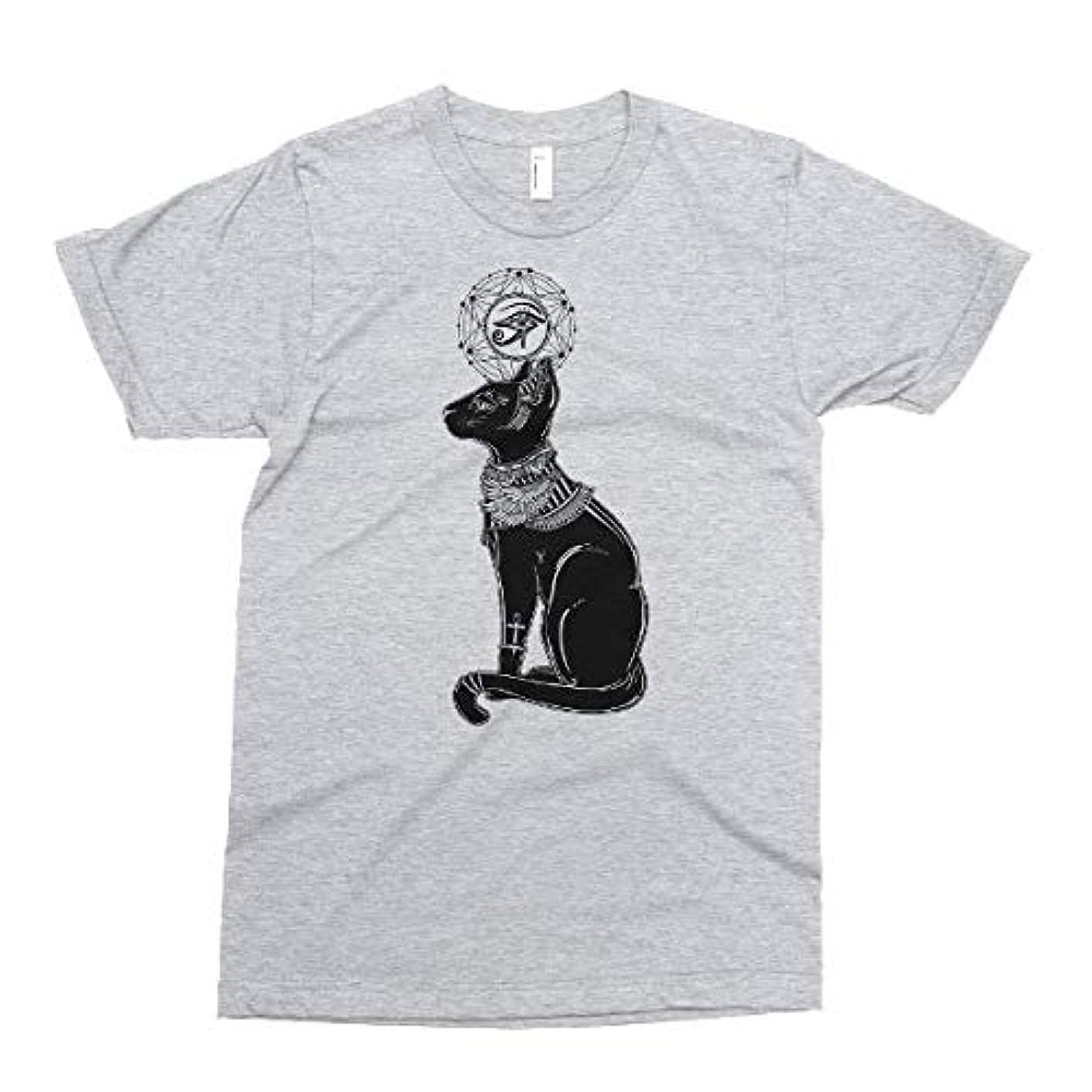 Egyptian Cat God Tshirt, Bastet, Goddess Eye Of Horus T shirt, Printed on American Apparel Tees, Women's Jr. Fit