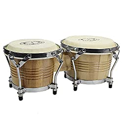GP Percussion B2 Pro-Series Tunable Bongos - Best Bongo Drums