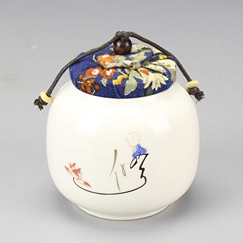 Canisters Opslag Potten Suiker Bowls7.5x9cm Home Decor Porselein Tea Box Potten Keuken Opbergdoos Potten voor Specerijen Keramische Doos Potten Xiu