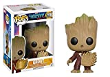Vinyl Figur POP. Guardians of The Galaxy 2 Young Groot with Shield