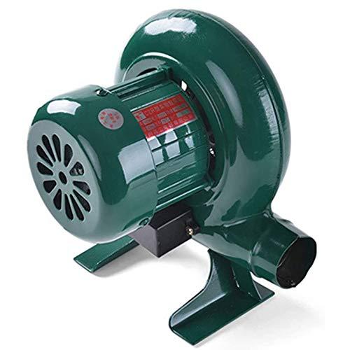 Kutra Ventilador de Aire Eléctrico Centrífugo Ventilador de Engranajes de Hierro Forjado Manual, Ventilador de Alambre de Cobre Industrial Ventilador de Encendedores de Barbacoa de Forja de Carbón