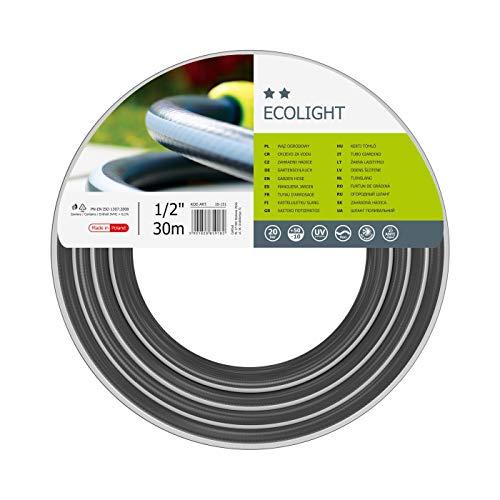 Cellfast Gartenschlauch Ecolight series Elastisch und flexibel 3-lagiger Wasserschlauch aus Polyesterkreuzgewebe, druck- und UV-beständig 20 bar Berstdruck, 30m, 1/2 zoll, 10-151
