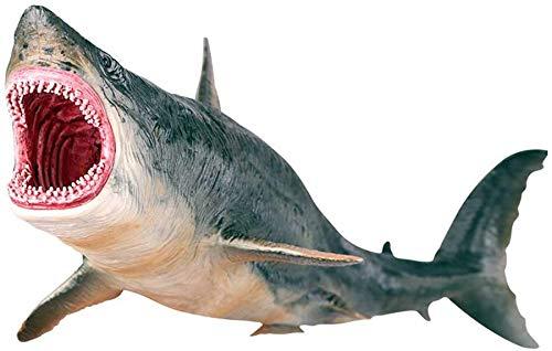 RSTJ-Sjap Tiburón Modelo Juguetes, Simulación Miniature Animal Toys, Colección de Decoraciones Marinas, utilizadas en Accesorios para el hogar, Adecuado para Decorar la Vida Regalos Infantiles