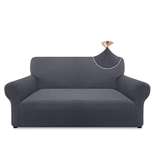 Pitpet High Stretch Loveseat Cover Couch Cover for 2 Cushion
