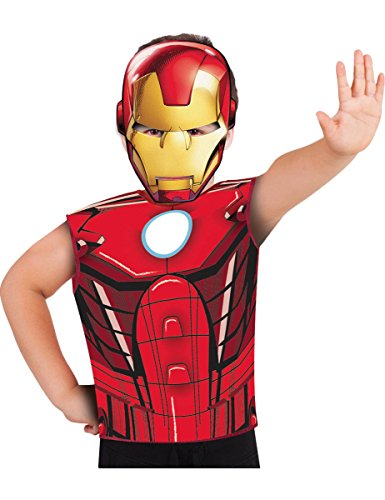 Rubie's Rubies - Iron Man Kostüm und Maske, mehrfarbig, S-M Spain 620968