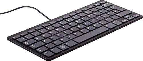 Raspberry Pi® Raspberry Tastatur schwarz USB Tastatur Deutsch, QWERTZ, Windows® Schwarz USB-Hub