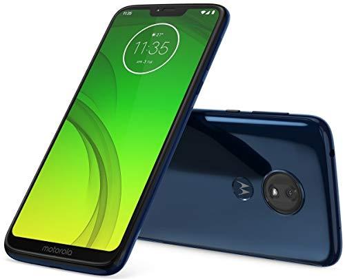 Motorola Moto G7 Power 64GB+3GB RAM XT1955-2 LTE Factory Unlocked GSM 5000mAh Battery Smartphone (International Version) (Marine Blue)
