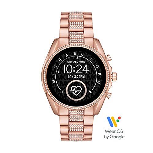 Michael Kors Smartwatch Pantalla táctil para Mujer de Connected con Correa en Acero...