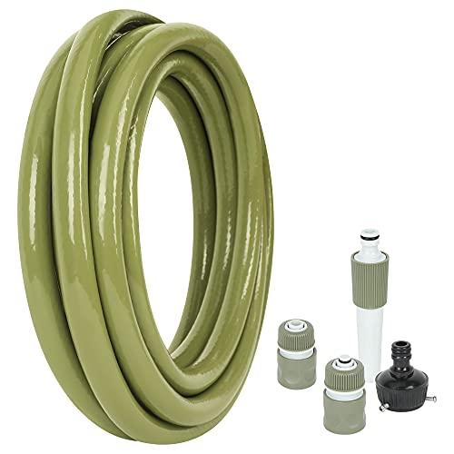 JonesHouseDeco Tubo da Giardino in PVC 1/2', 5 m,...