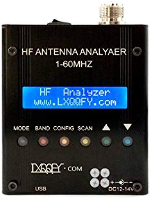 WEIHAN Lusya HF 1-60MHZ MR300 QRP SARK100 blueetooth Shortwave Antenna Analyzer with battery 12V-18V