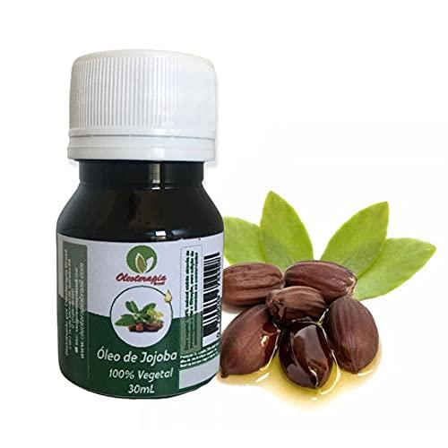 Óleo vegetal de Jojoba 30ml prensado a frio/uso cosmético - Oleoterapia Brasil