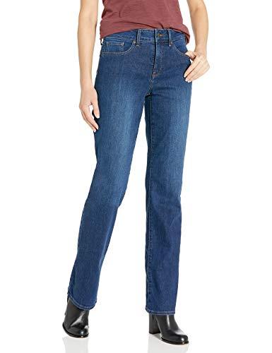 NYDJ Women's Misses Marilyn Straight Denim Jeans, Cooper, 14