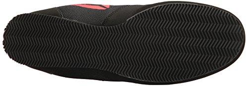 Reebok Men's Boxing Boot-Buck Sneaker, Delta-Black/Black/White, 10.5 M US