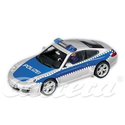 RC Auto kaufen Rennwagen Bild: Carrera 30467 - Digital 132 - Porsche 911 Polizei mit Blinklichtfunktion*