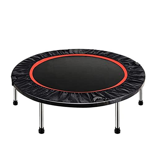 Trampolín Fitness Plegable 100 cm, Trampolín Cama Elástica para Niños Adultos, Jardín, Gimnasio, Peso máximo 150 kg