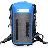 LD Shop Bolsa Estanca Impermeable 25L para Navegar, Playa, Kayak, Esquí, Pesca, Camping, Natación,Azul