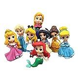 Tylyund Peluches Nueva Princesa Sofia Rapunzel Doll Beauty Belle Mermaid Dolls Toy Set Regalos para Niñas