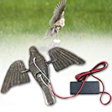 Pnxq88 Simulación Palomas Cebo , Caza Cebo , Eléctrico Vuelo Bird con Spinning Ala para Caza