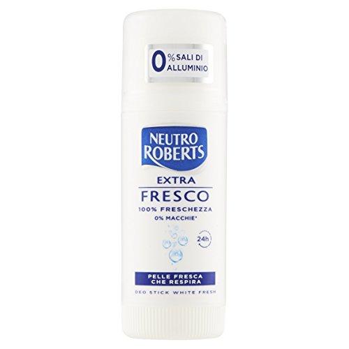 Neutro Roberts Déodorant extra frais White Stick - 40 ml
