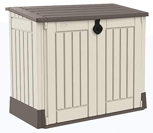 Keter Gartenbox/Aufbewahrungsbox Woodland 30 132x74x110 cm beige