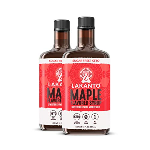 Lakanto Maple Flavored Sugar-Free Syrup