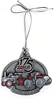 Case IH 2017 Limited Edition 175th Anniversary Steam Engine and Magnum Christmas Ornament, 14 in Series