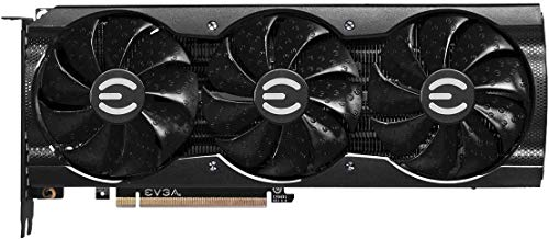 E-V-G-A GeForce RTX 3070 XC3 Ultra Gaming Graphics Card, 8GB GDDR6, iCX3 Cooling, PCI Expresss Gen 4, ARGB LED, Metal Backplate w/Mytrix HDMI Cable