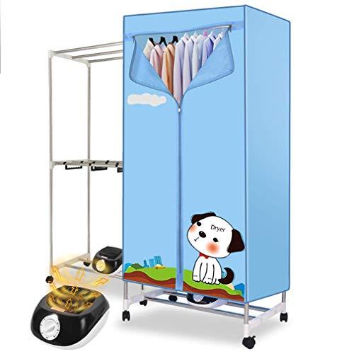 Clothes Dryer 220V 1000W Startseite Elektro Wäschetrockner Innenaufnahme Zwei Schichten Schnell Air Dry Hot Schrank Maschine Wäschetrockner große Kapazität und Fernbedienung