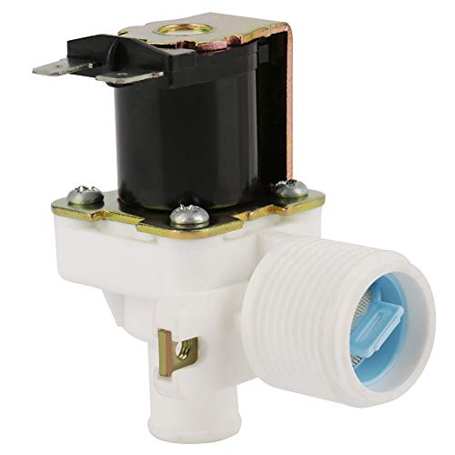 Válvula De Solenoide Eléctrica 3/4' 220V / 240V,Electroválvula Lavadora,Válvula Magnético De Agua,A Prueba De Humedad y Anticorrosión,Para Controlar El Flujo De Agua