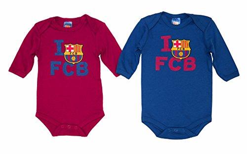 F.C. Barcelona Bodysuit Barça, Blau und Granatrot, Größe 18 Monate